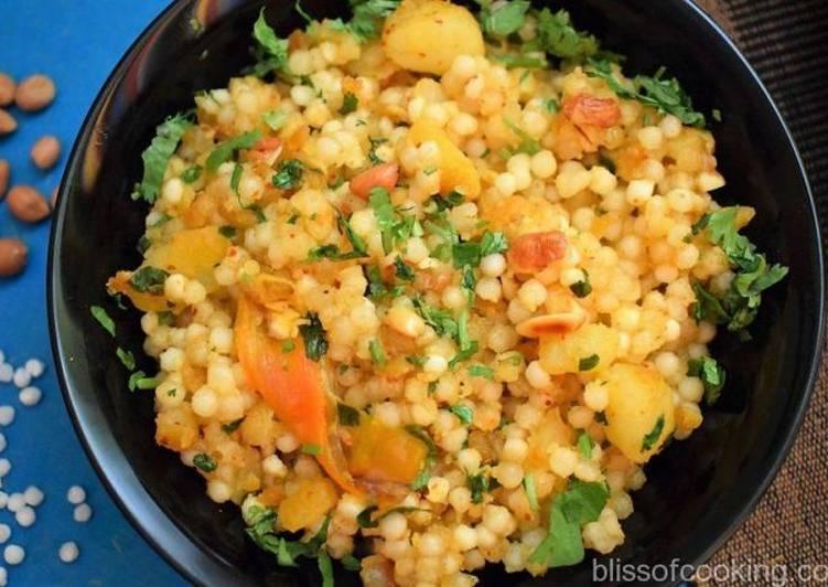 Absolutely Ultimate Dinner Easy Any Night Of The Week Falahari Sabudana Khichdi