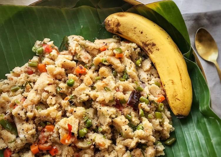 Turn to Food to Elevate Your Mood Vegetable Upma