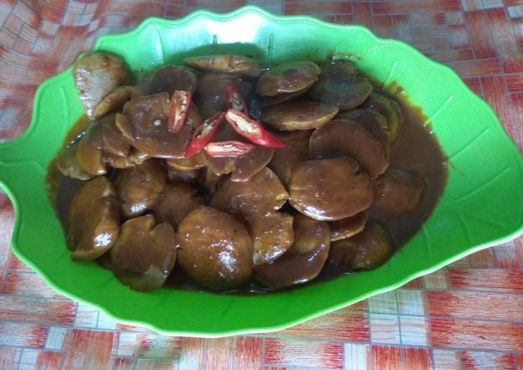 Resep: Rendang jengkol bumbu indofood simple dan praktis