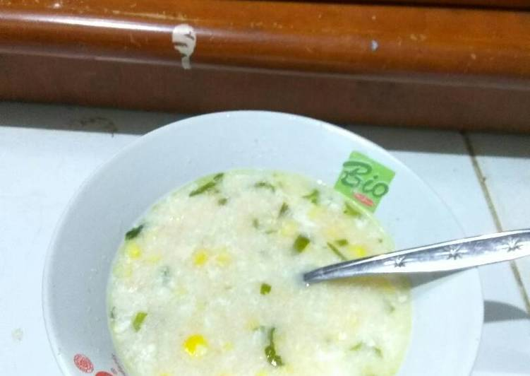 Sup ayam oat