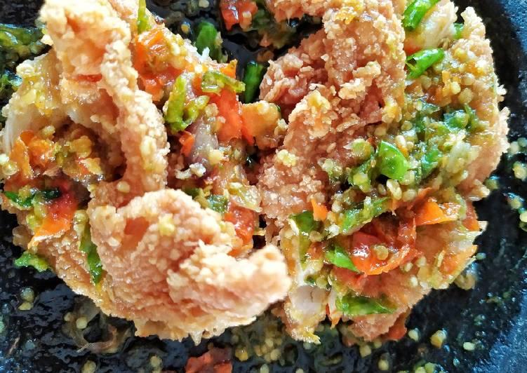 Sambal Rawit Ijo Ayam Geprek