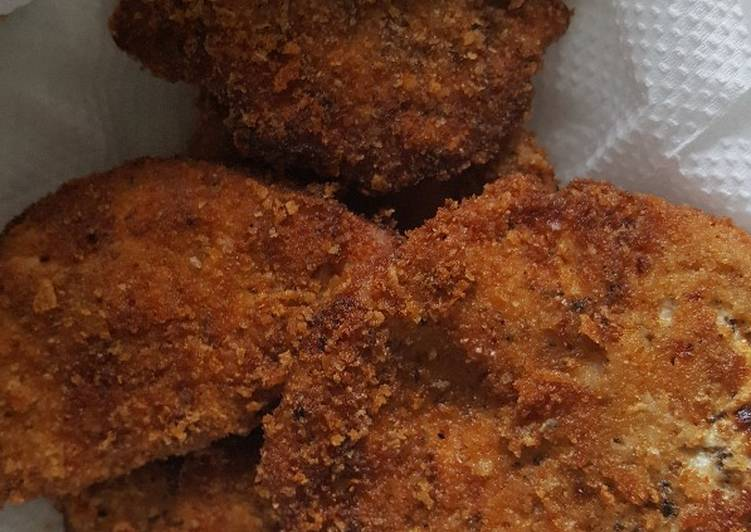 Steps to Make Homemade Crusted Chicken Breast