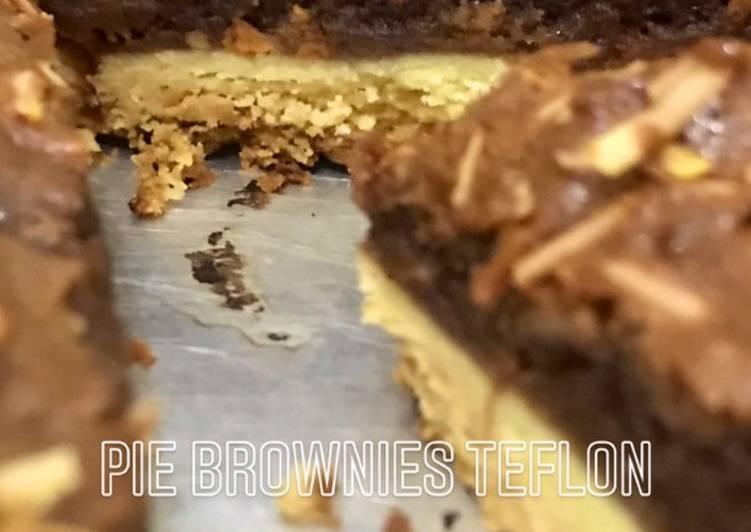 Resep Pie Brownies Teflon Bikin Jadi Laper