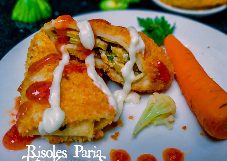 Risoles Paria (isi Telur dadar Pare khas Pontianak)
