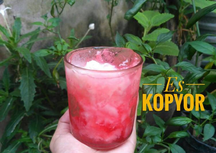 Es Kopyor Coco Pandan KW