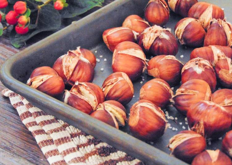 Simple Way to Make Perfect Simple Oven Roasted Chestnuts