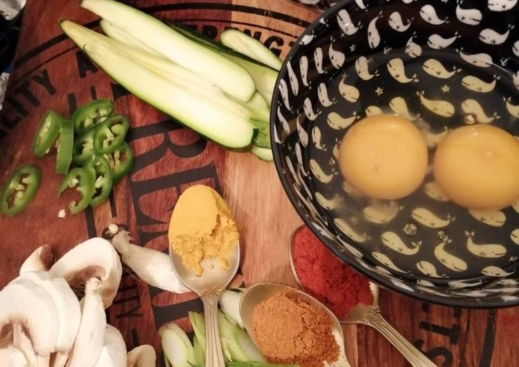 Façon la plus simple Préparer Parfait Hajaa omelette tunisienne