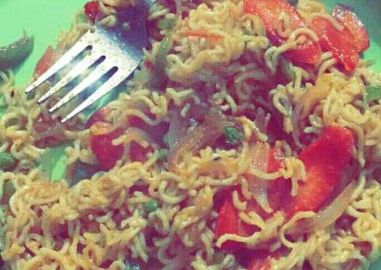How to Prepare Award-winning Veggies Maggi
