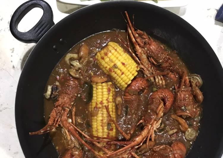 Lobster saos Padang