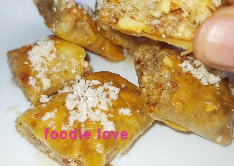 Turkish almond Baklava