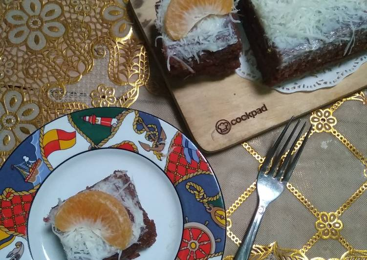 Cake Pisang Coklat Keju