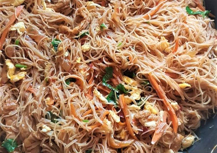 Recipe of Perfect Malaysian Mee Hoon Goreng
