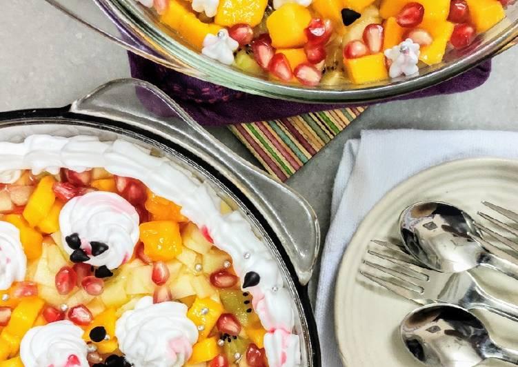 Fresh Fruit Trifle Pudding