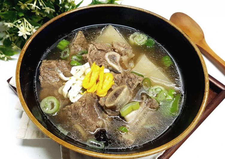 Galbi Tang Resep asli mirip sama yg di restoran Korea