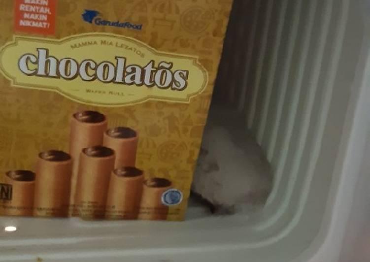 Es stick cokelat chocolatos