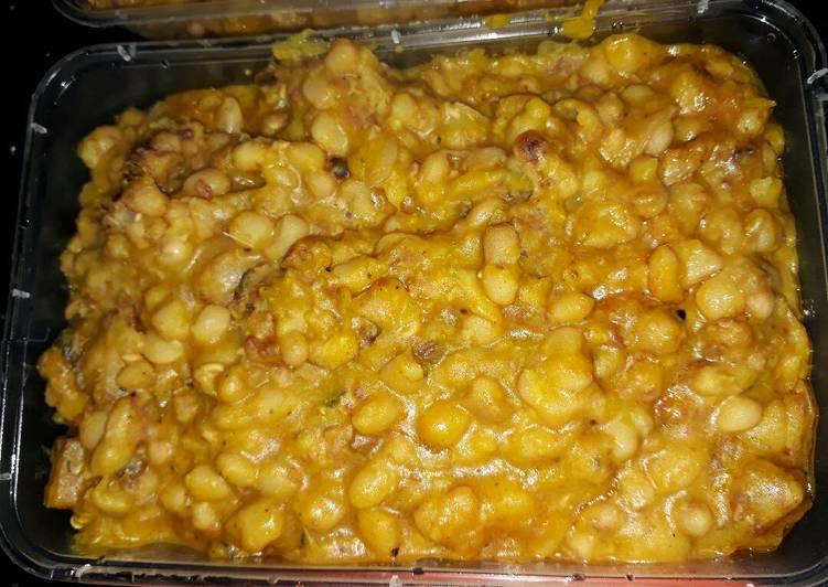Recipe of Homemade Bean Porridge