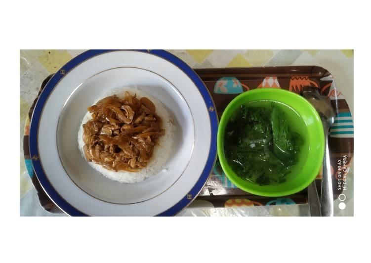 Nasi Tim Ayam Jamur Ala2