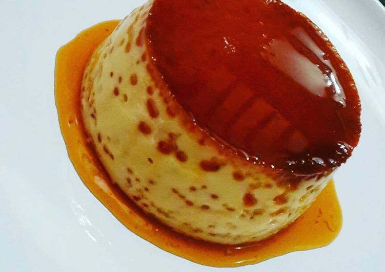 Custard Pudding Caramel