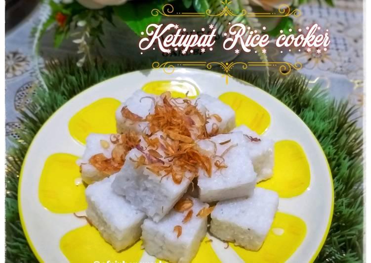 Ketupat Rice cooker praktis