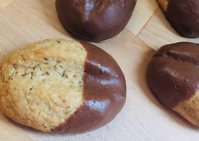 ☕️ Biscuits café sans œufs ☕️
