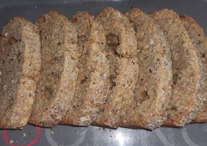 How to make Oats and Seeds bread