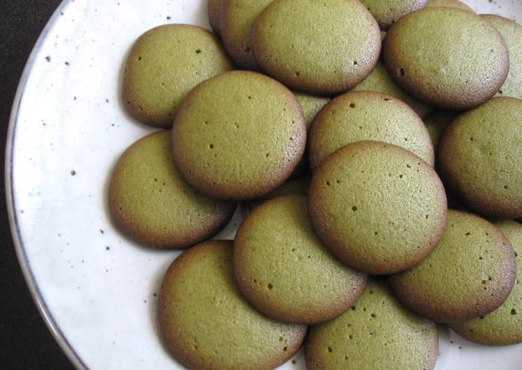Recipe of Perfect Matcha 'Langues de Chat' Biscuits