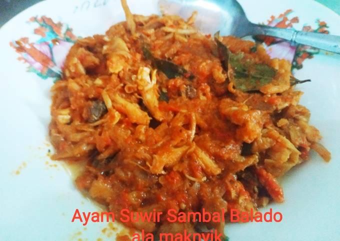 Ayam Suwir Sambal Balado