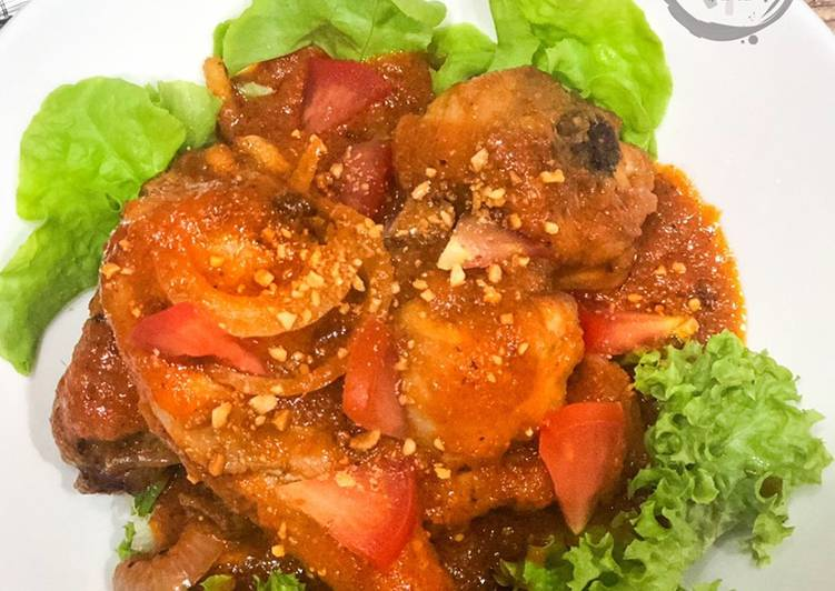 Ayam Merah Kacang Mak Nyonya