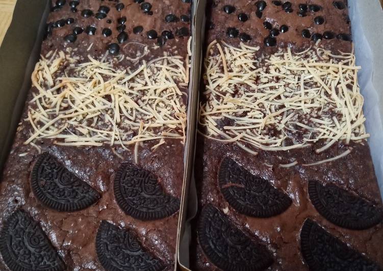 Fudge Shiny Brownies
