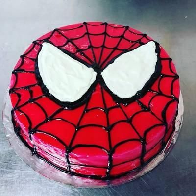 Spiderman Cake Recipe By Chef Rohit Cookpad