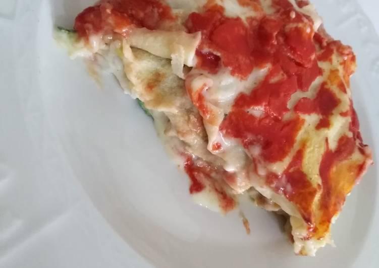 How to Prepare Delicious Lasagna di pane carasau vegetariana