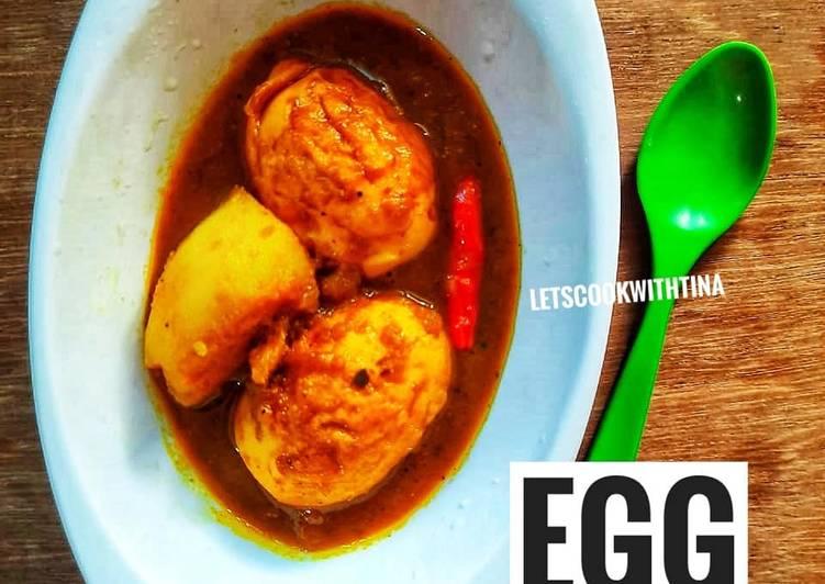 Steps to Make Homemade Egg Curry