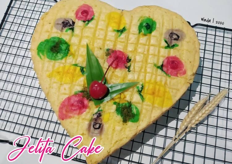 cara memasak Jelita Cake metode Butter Cake - Sajian Dapur Bunda