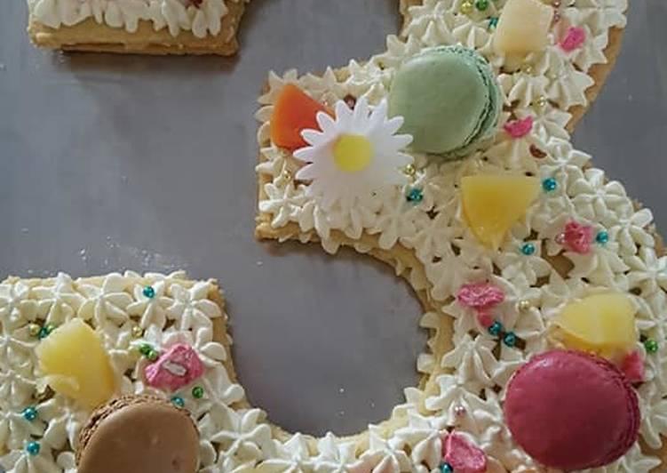 Les 7 Meilleures Recettes de Number cake 3