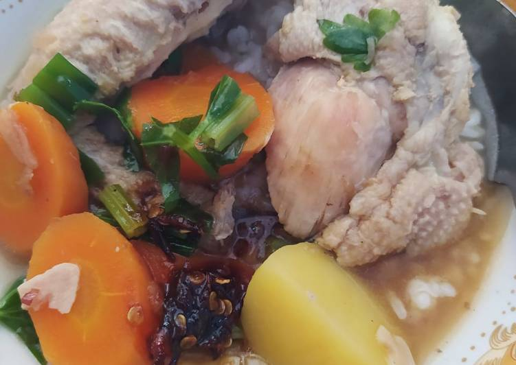 Sup ayam sehat