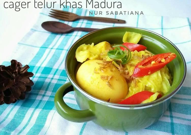 Cager Telur khas (Sampang) Madura