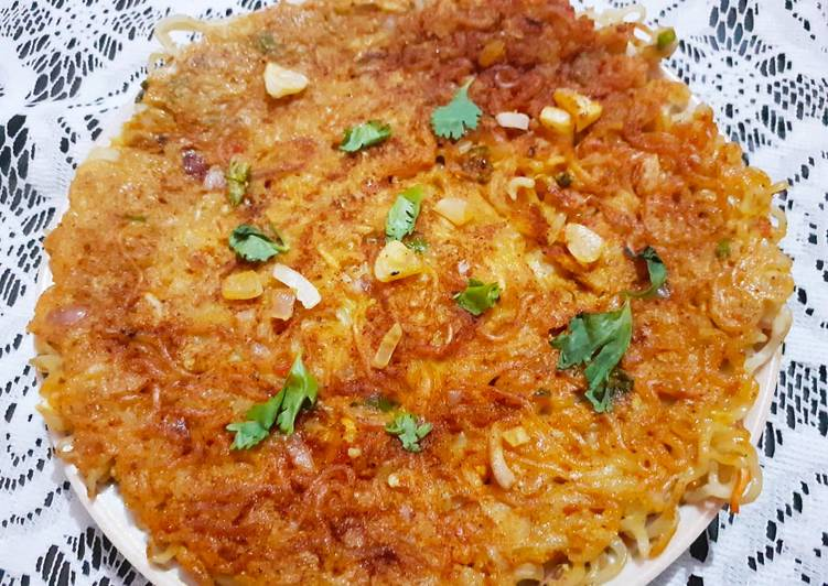 How to Make Yummy Maggi Omelette