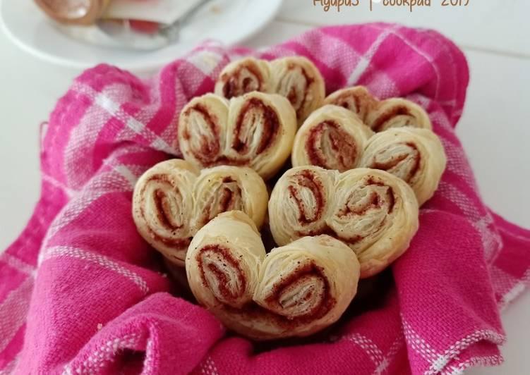 Resep Palmier Cookies a.k.a Genji Pie Monde Top