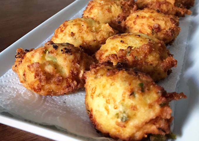 Leftovers Makeover: Mashed Potato Fritters