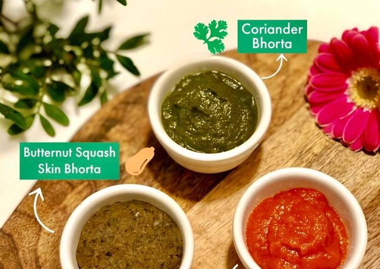 Plant based Bhortas.. #NewyearNewyou