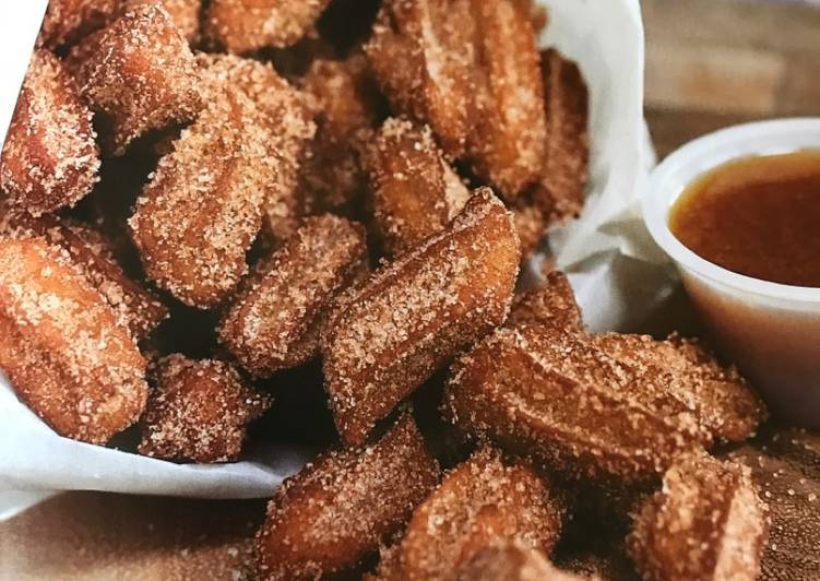 Recipe: Perfect Mini Churro bites