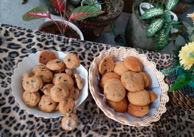 **Chewy Cookies Choccochips**