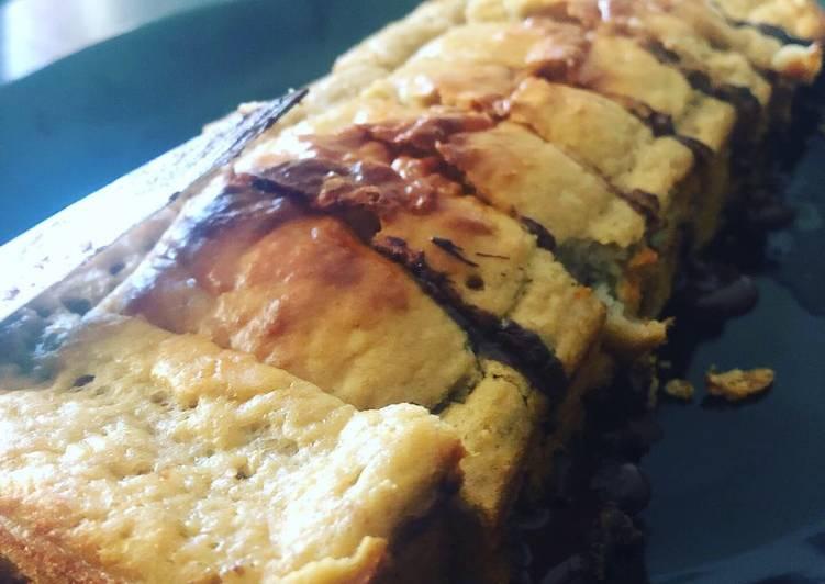 Comment Servir Bananabread au chocolat noir