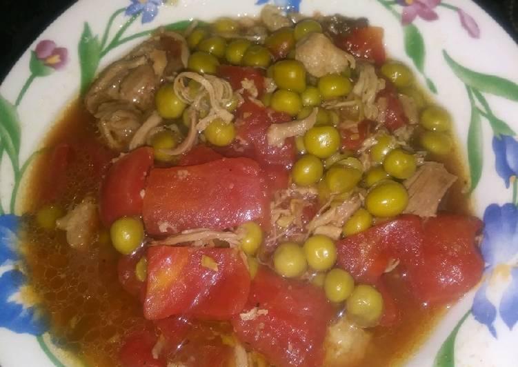 Veggie Pork Soup