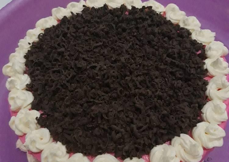 Kue ultah base cake Brownies