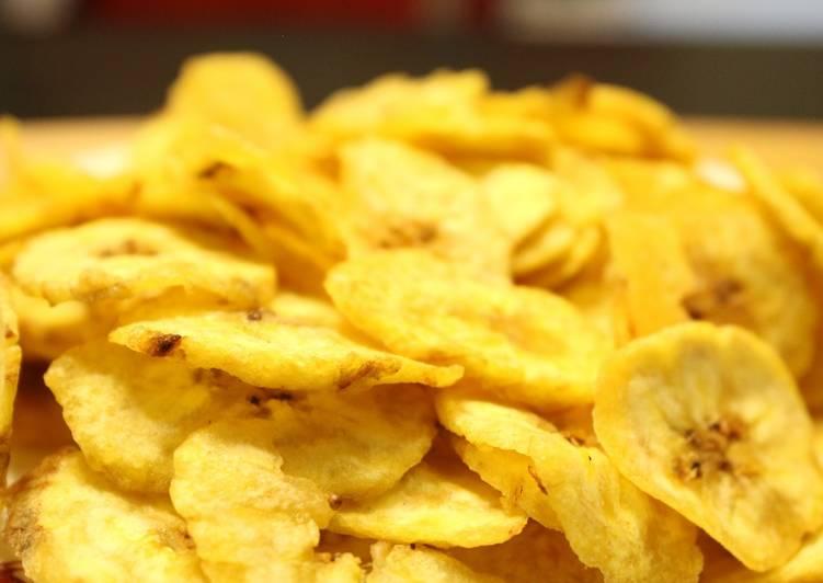 Yellow Banana Chips   Banana Wafers