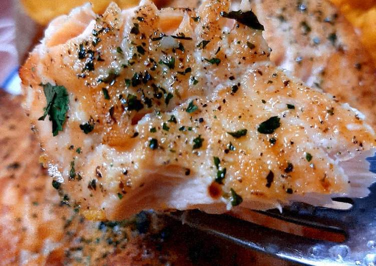 Recipe of Speedy #tRGj Fresh Salmon Ninja Foodi AF