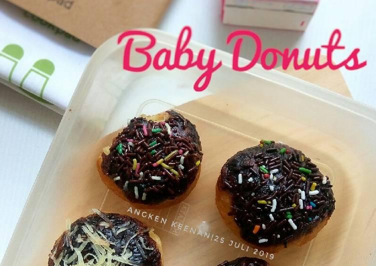Baby Donuts (Empukk parahh)