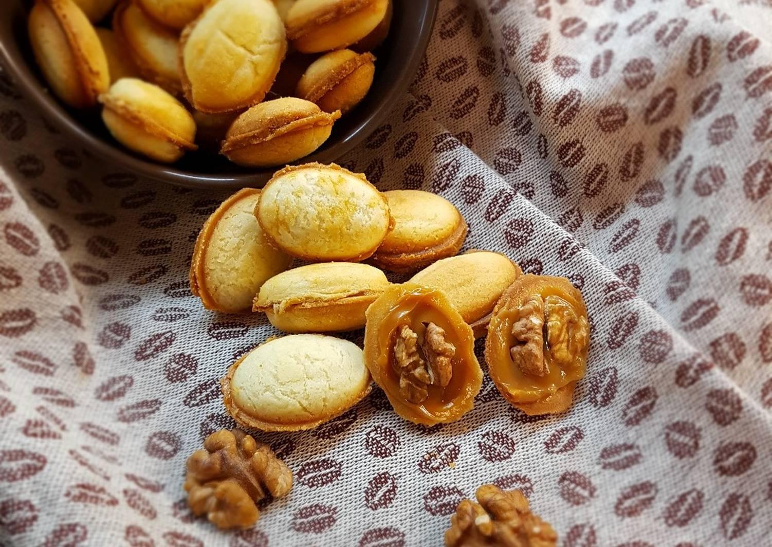 орешки со сгущенкой пошаговый рецепт с фото снимком всеми своего