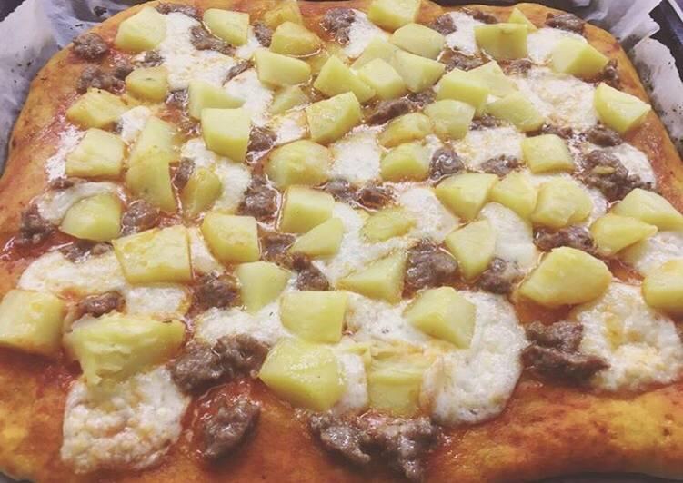 Pizza integrale sofficissima!